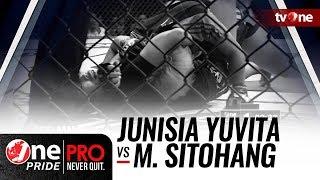 [HD] Junisia Yuvita vs Melpida Sitohang - One Pride MMA - Woman Strawweight