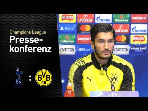 Pressekonferenz mit Nuri Sahin und Peter Bosz | Tottenham Hotspur - BVB