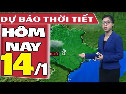 Dự báo thời tiết hôm nay mới nhất ngày 14/1/2021   Dự báo thời tiết 3 ngày tới