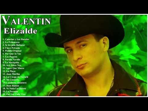 Valentin Elizalde  Mix Corridos - 20 Exitos