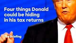4 things Donald Trump could be hiding in his tax returns | The Briefing(Sign up here to get involved: http://hrc.io/1R36iMn Subscribe to The Briefing Youtube channel: http://hrc.io/1HtlY52 Like The Briefing on Facebook: ..., 2016-05-24T20:10:58.000Z)