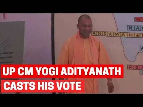 Lok Sabha Elections 2019: Uttar Pradesh CM Yogi Adityanath casts his vote