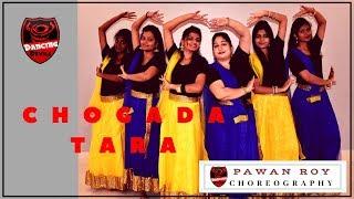 CHOGADA TARA | LOVEYATRI | Garba Dance Cover | Pawan Roy Choreography | Aayush, Warina