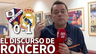 Huesca 0-1 Real Madrid |El discurso de Roncero | Diario AS | Diario AS