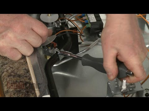 Gas Valve Bracket - Whirlpool Gas Cooktop Model #WCG97US0DS00