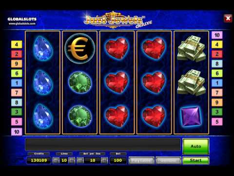 Just jewels Deluxe videoslot gameplay video GlobalSlots Casino