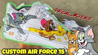 Air Force 1 Custom | Tom & Jerry