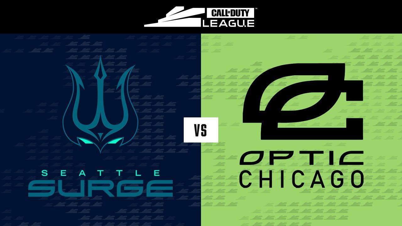 Elimination Round 4   @Seattle Surge vs  @OpTic Chicago     Stage V Major Tournament   Day 3