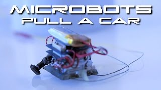 6 Microrobots Move A Car 18,000 Times Their Weight - BTF