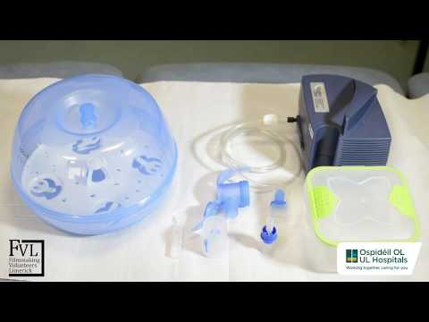 How to clean your Nebuliser