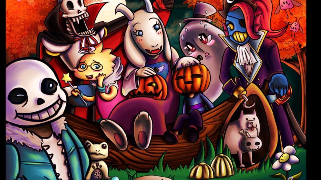 A FNAF & Undertale Halloween - YouTube