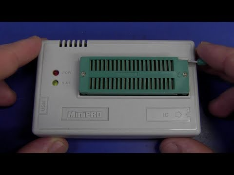 EEVblog #411 - MiniPro TL866 Universal Programmer Review