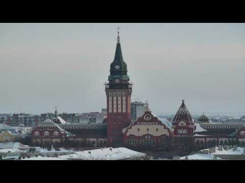 Subotica 2 Dec 2013 Serbia Web cam 's in the city