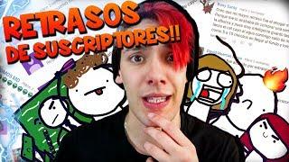 LEYENDO (Y DIBUJANDO) LOS RETRASOS DE MIS SUSCRIPTORES - Nico Core Tops
