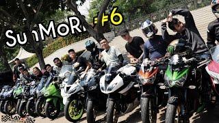 Mornin Ride #6 | Z800 ZX636 R6 CBR600RR ZX6R etc - Jakarta, Indonesia | Dennis Suryana