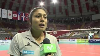 Movistar Deportes - Alexandra Machado - Selección Peruana de Vóley