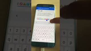 Google lock bypass by daniel ponowski  android 7(NOUGAT) samsung galaxy s7 edge part 1
