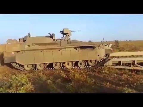 Israel MOD - Namer Heavy Combat Engineering Vehicle Field Testing [360p]