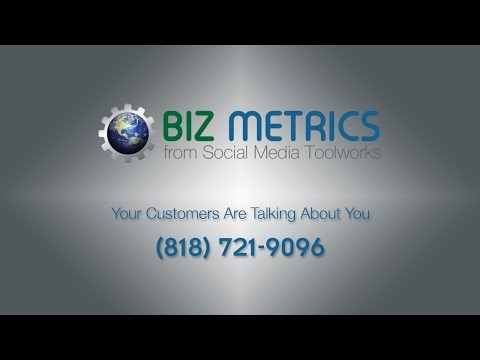 Biz Metrics from Social Media Toolworks - Los Angeles - Northridge - San Fernando Valley