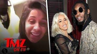 Cardi B Blasts Hackers | TMZ TV