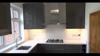 complete kitchen renovation ikea kitchen underfloor heating quartz worktop in hd 1080p