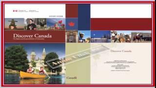 Discover Canada Study Guide