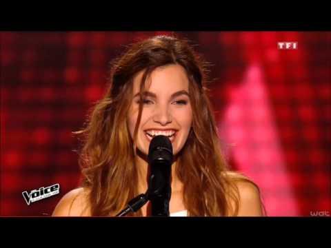 The Voice, Avec son violon, Gabriella bouleverse public et coachs