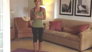 Yoga Straddle Press Handstand With Kimberly Snyder