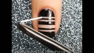 Видео урок дизайна ногтей