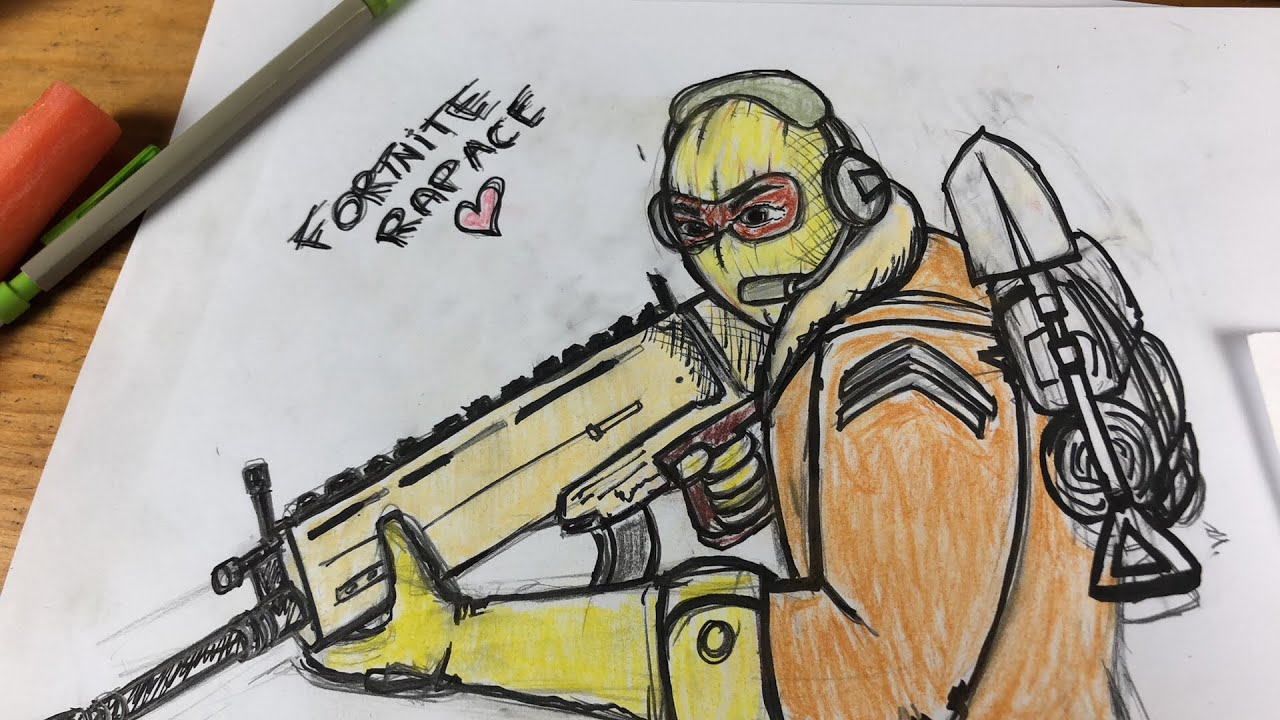 Dessin Fortnite On Continue Youtube