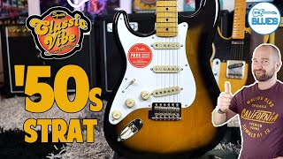 Squier Classic Vibe 50s Stratocaster Re-Review!