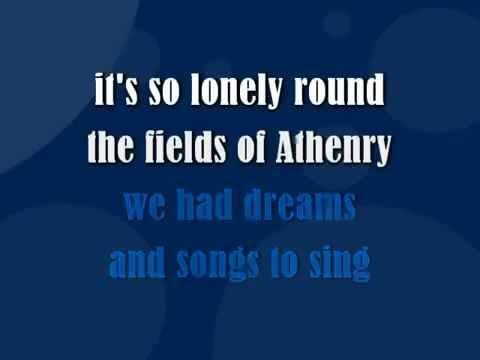 The Fields Of Athenry - KARAOKE