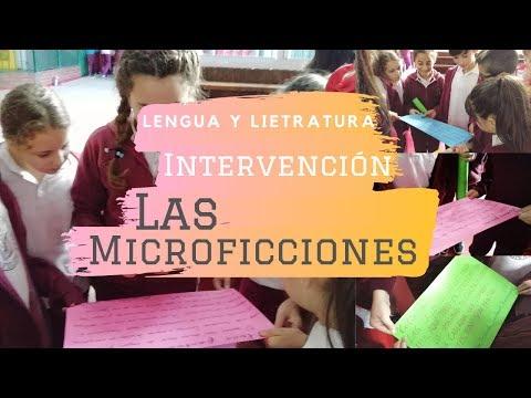 Intervención Microficciones-Lengua y Literatura