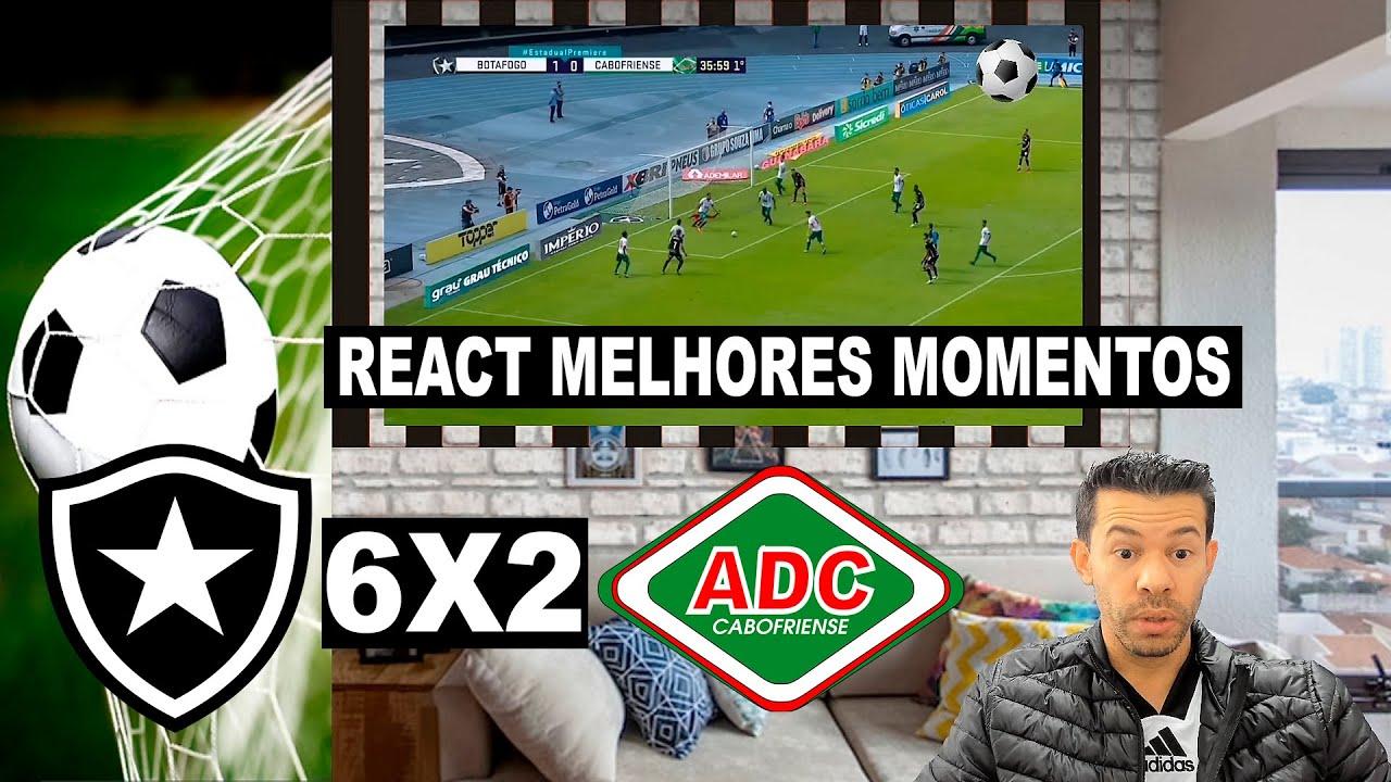 Reação Flamenguista | Botafogo 6x2 Cabofriense | Melhores Momentos