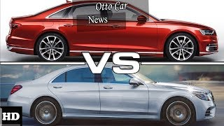 HOT NEWS  !!! 2018 Audi A8 VS Mercedes Benz S Design and Price