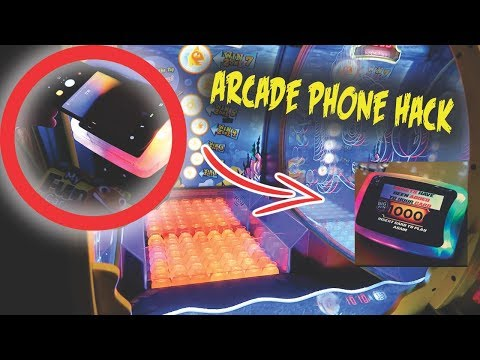 HACKING ARCADE GAMES WITH PHONE CAMERA (UNLIMITED PLAY!)