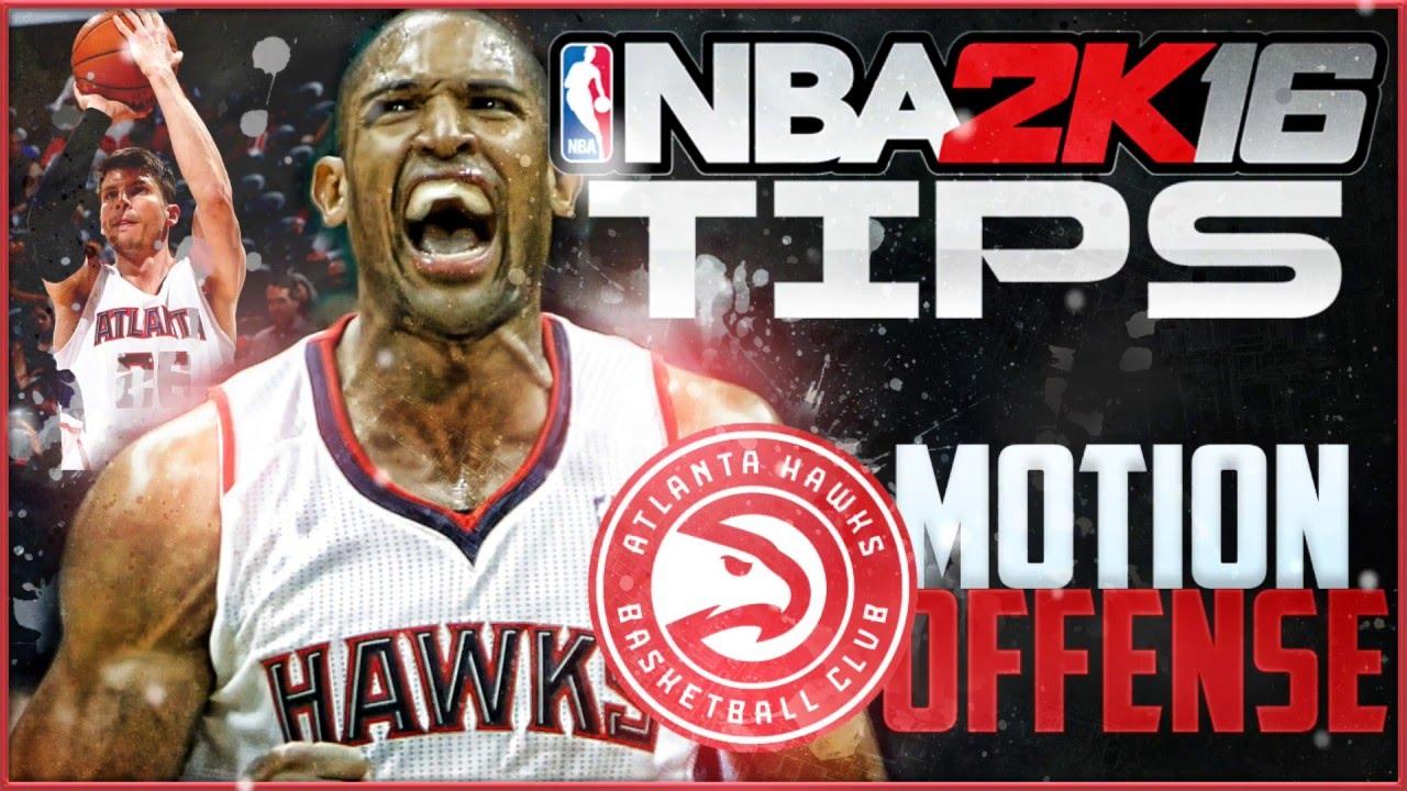 c3e0e774c359 NBA 2K16 Tips and Tutorial  Hawks Motion Offensive Breakdown! - YouTube
