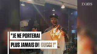 50 Cent brûle un t-shirt Gucci à 350€ pour protester contre un