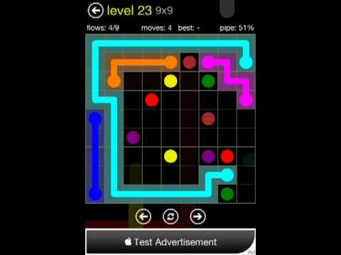 Flow 9x9 Level 23 (Regular Pack)