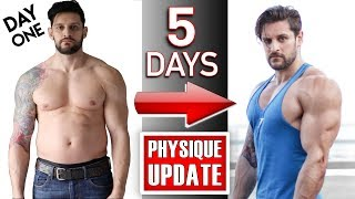 7 Day Transformation Challenge | DAY 5 | LOST WEIGHT, LOOK BIGGER!? Science Explained (Ep.4)