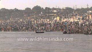 Has religious bath made Ganga impure? Just think once