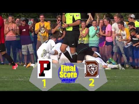 Delran 2 Pennington 1 Boys Soccer | Delran Upsets USA's No.1 Ranked Team