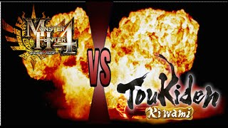 Monster Hunter 4 Ultimate VS Toukiden Kiwami!!! Which Is Better??!!