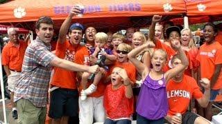 Tailgate Fan: Clemson University