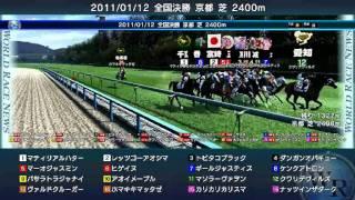 2011/01/12開催ワールドレース 1着 10 アオイメープル 追込 10人気 MA...