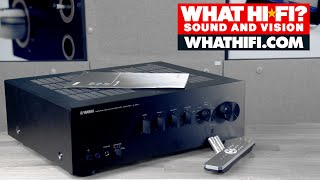 Yamaha A-S501 stereo amplifier - unboxing video