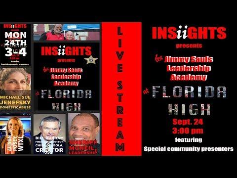 Jimmy Sauls Leadership Live Stream - Brooks County High School Edition Dec.12, 2018