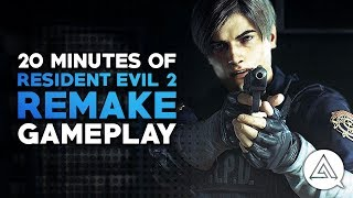 20 Minutes of Resident Evil 2 Remake Gameplay