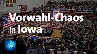 Vorwahlen in Iowa: Fehlstart für US-Demokraten