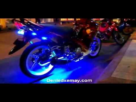 độ đèn led xe máy mới nhất 2013. denledxemay.com